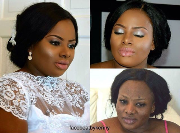 LoveweddingsNG Before and After Facebeat by Kenny