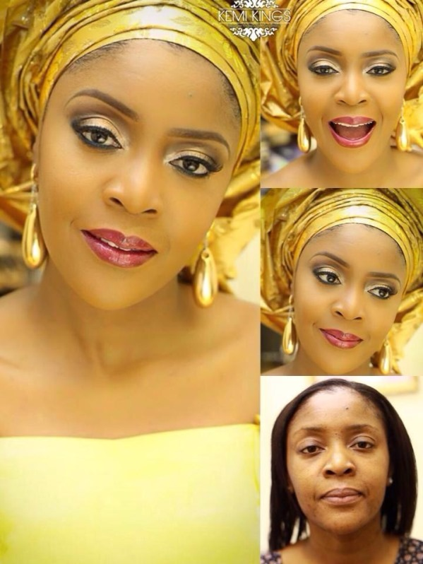 LoveweddingsNG Before and After - Kemi Kings