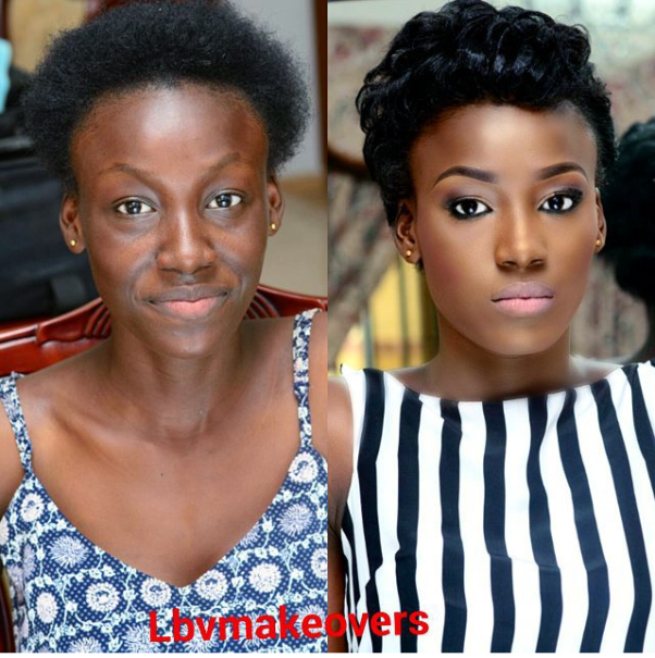 LoveweddingsNG Before and After - LBV Makeovers2