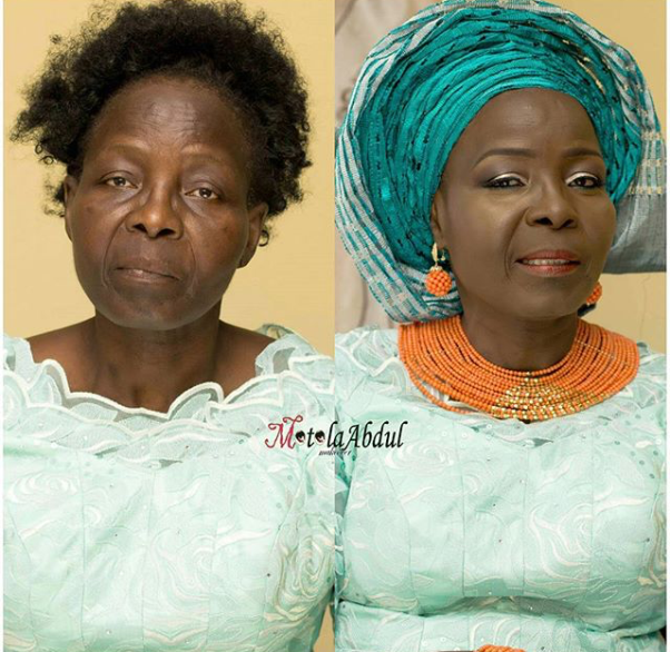 LoveweddingsNG Before and After Motola Abdul