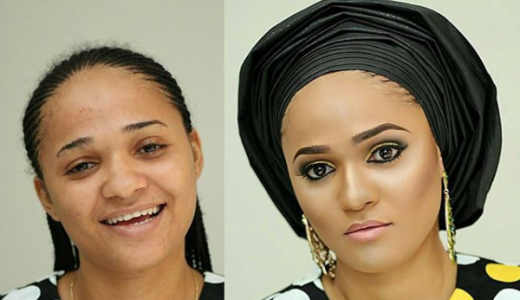 LoveweddingsNG-Before-and-After-Topal Touch