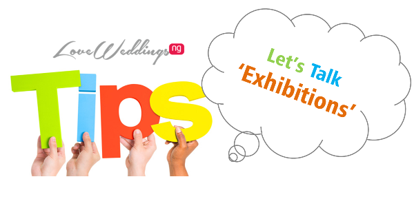 LoveweddingsNG Vendor Tip - Exhibition