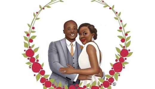 Nigerian Wedding Illustrations Data Oruwari LoveweddingsNG