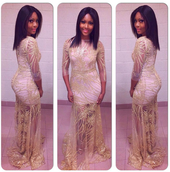 Osas Ajibade Nigeria Entertainment Awards LoveweddingsNG2
