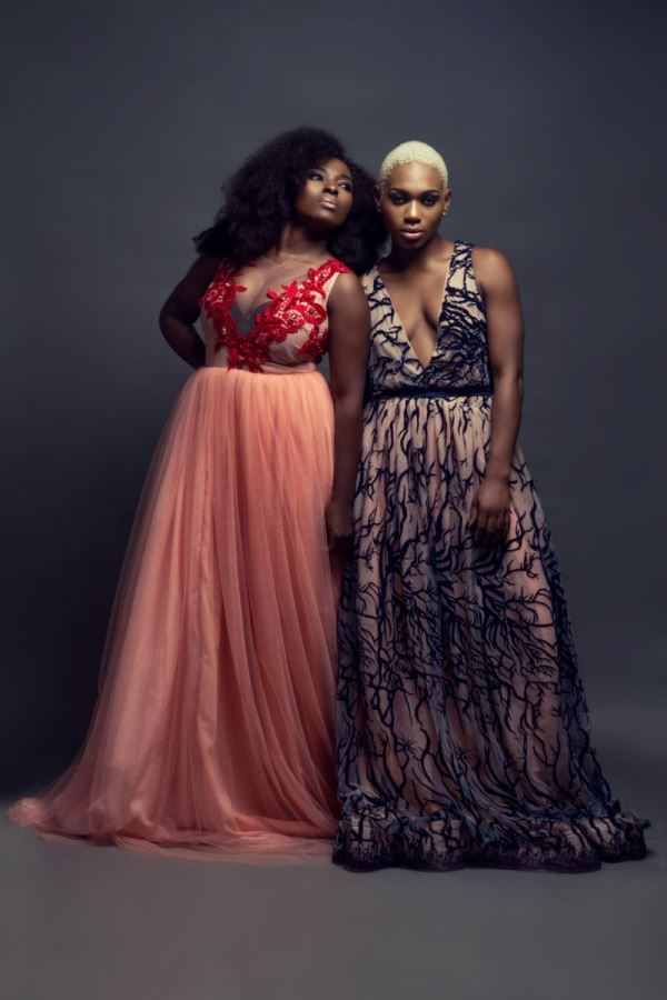 Uju Estelo 2015 Collection - Meg Otanwa & Ezinne Asinugo