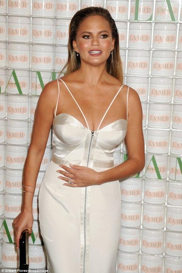 Chrissy Teigen Pregnant Bridal Inspiration LoveweddingsNG1