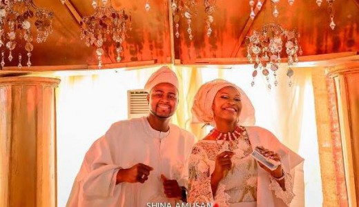 DJ Xclusive weds Tinuke Ogundero Traditional Wedding LoveweddingsNG3