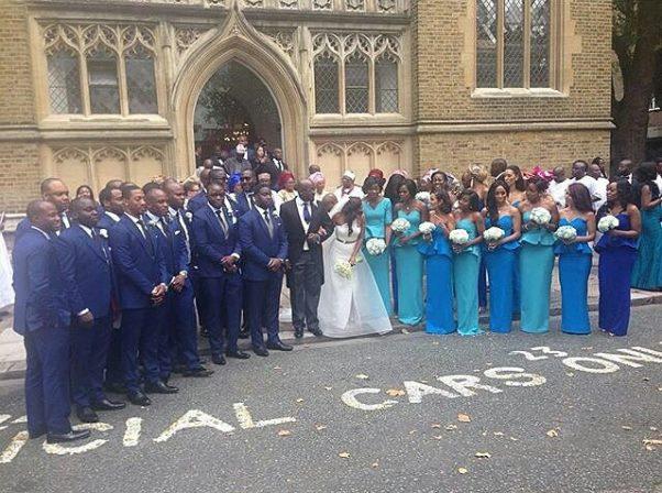 Dolapo Oni Gbite Sijuwade White Wedding - LoveweddingsNG1