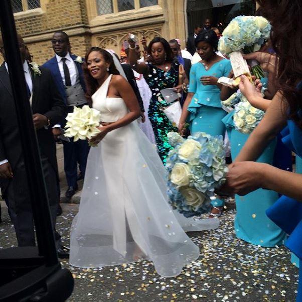 Dolapo Oni Gbite Sijuwade White Wedding - LoveweddingsNG2