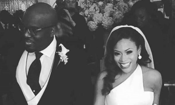 Dolapo Oni Gbite Sijuwade White Wedding - LoveweddingsNG