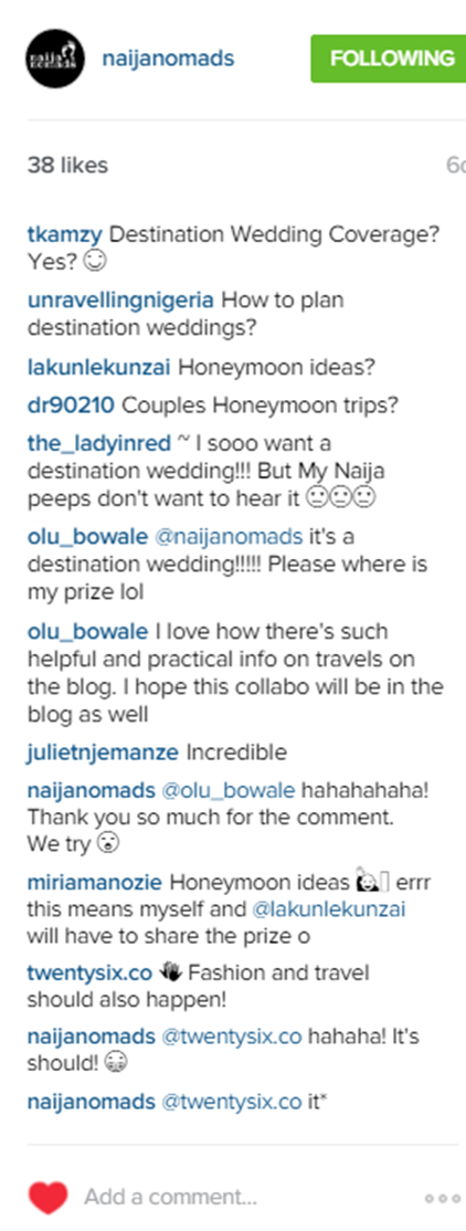 LoveweddingsNG Naija Nomads4