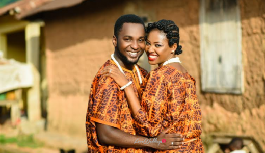 LoveweddingsNG Traditional Prewedding Shoot - Modupe and Ope Debola Styles