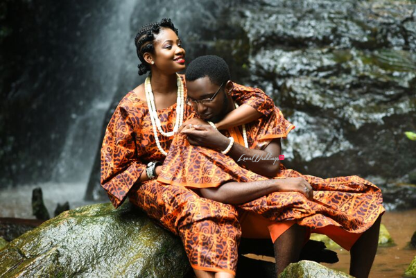 LoveweddingsNG Traditional Prewedding Shoot - Modupe and Ope Debola Styles5
