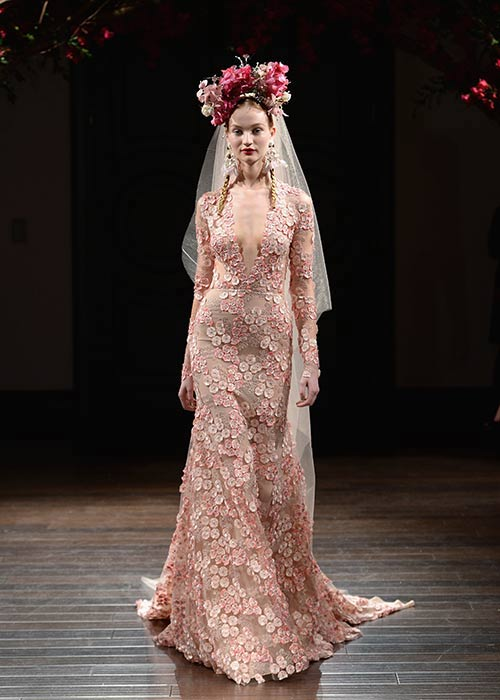 New York Bridal Fashion Week 2016 - Naeem Khan