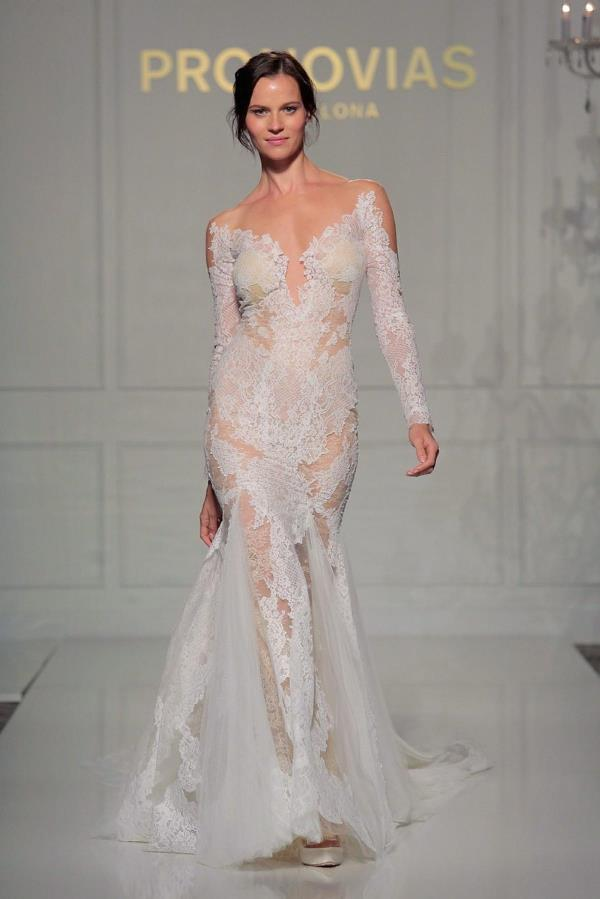 New York Bridal Fashion Week - Pronovias LoveweddingsNG