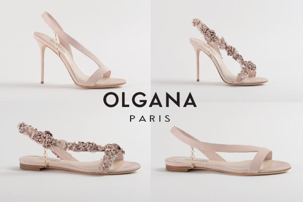 Olgana Paris Spring 2016 Bridal Shoe Collection - LoveweddingsNG13