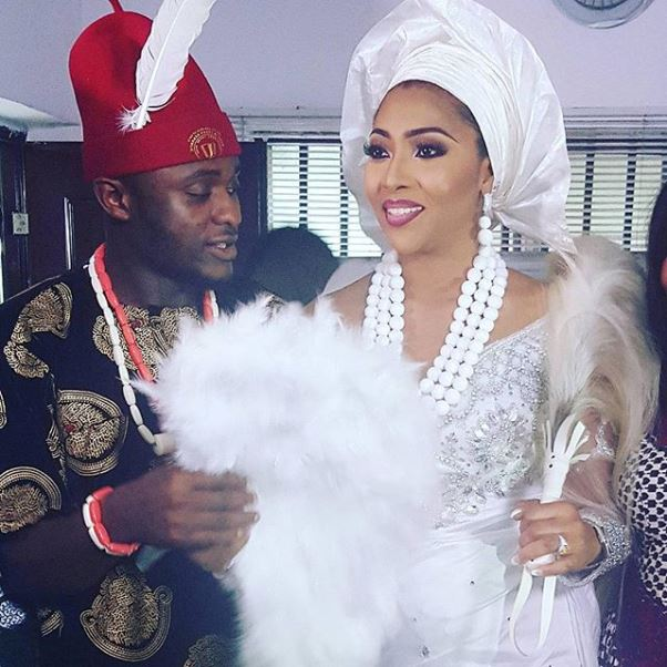 Ubi Franklin & Lilian Esoro Traditional Wedding Rites LoveweddingsNG1