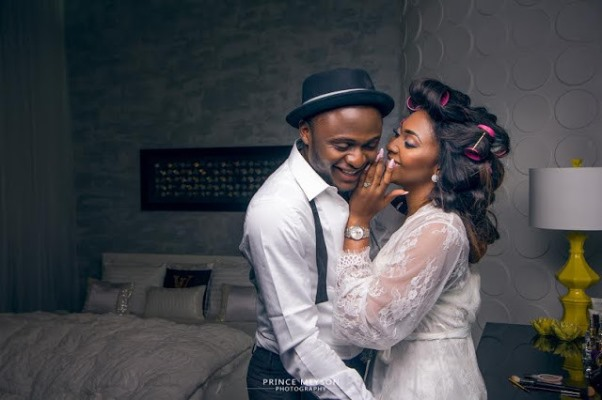 Ubi Franklin and Lilian Esoro Pre wedding LoveweddingsNG15