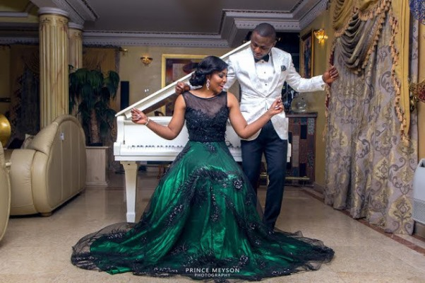 Ubi Franklin and Lilian Esoro Pre wedding LoveweddingsNG9