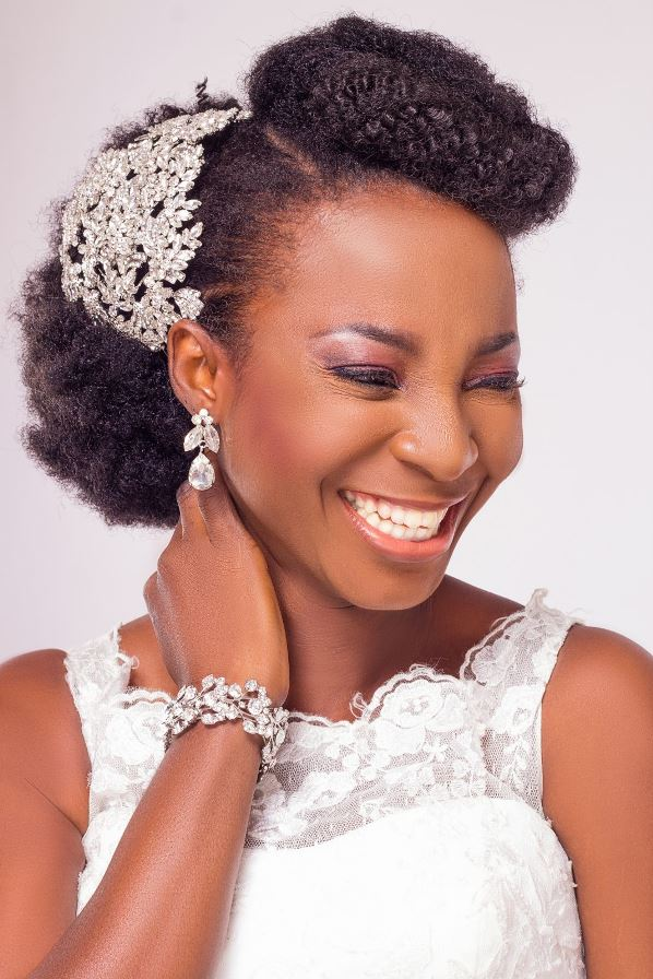Yes I Do Bridal Nigerian Bridal Hair & Makeup Inspiration LoveweddingsNG1