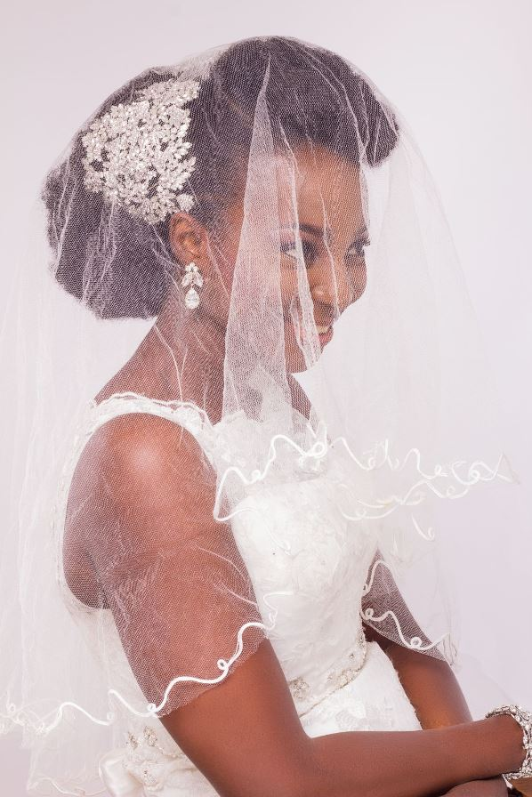 Yes I Do Bridal Nigerian Bridal Hair & Makeup Inspiration LoveweddingsNG13