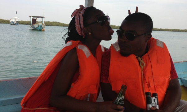 Gambia - Nigerian Honeymoon Destination - Fishing River Gambia LoveweddingsNG Naija Nomads feat