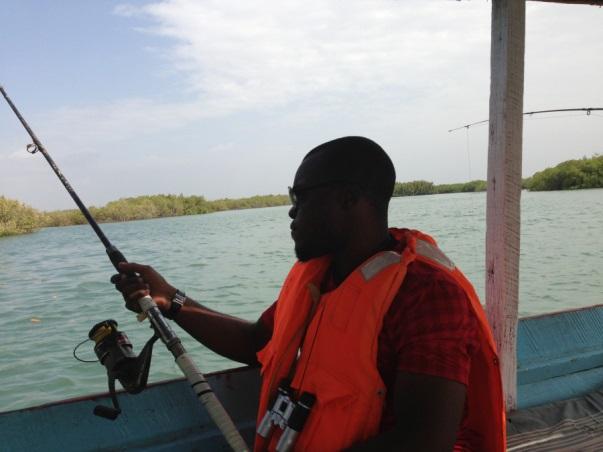 Gambia - Nigerian Honeymoon Destination - Fishing River Gambia LoveweddingsNG Naija Nomads1
