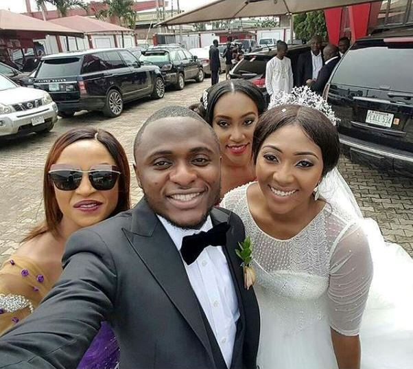 Lilian Esoro & Ubi Franklin White Wedding LoveweddingsNG - Freda Francis