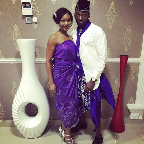 Lilian Esoro & Ubi Franklin White Wedding LoveweddingsNG - Osas & Gbenro Ajibade