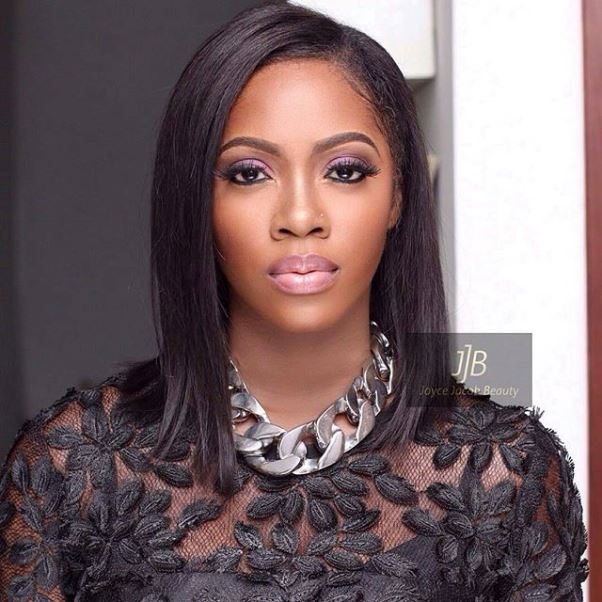 Lilian Esoro & Ubi Franklin White Wedding LoveweddingsNG - Tiwa Savage