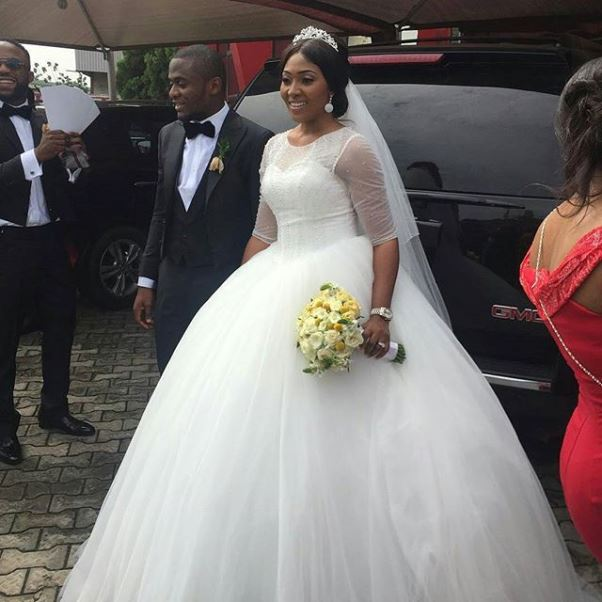 Lilian Esoro & Ubi Franklin White Wedding LoveweddingsNG1