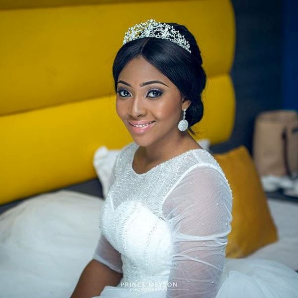 Lilian Esoro & Ubi Franklin White Wedding LoveweddingsNG5
