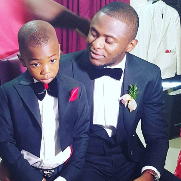 Lilian Esoro & Ubi Franklin White Wedding LoveweddingsNG8