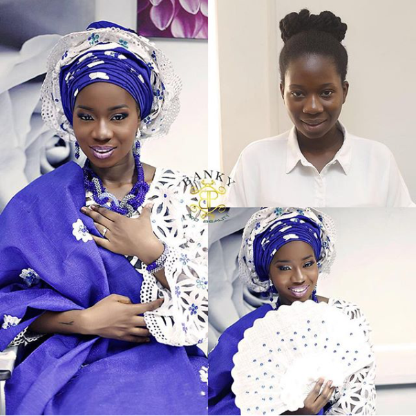 LoveweddingsNG Before and After BankyPro Beauty