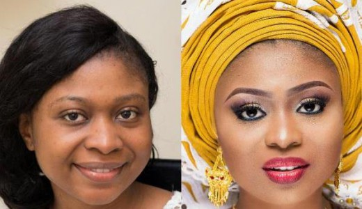 LoveweddingsNG Before and After Glamtouch feat