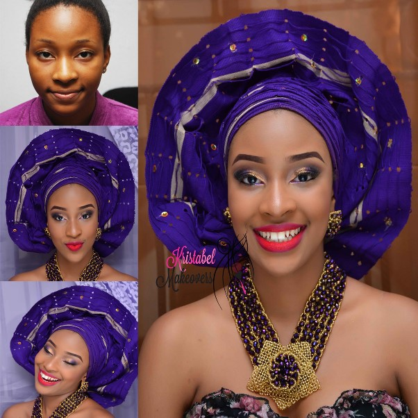 LoveweddingsNG Before and After Kristabel Makeovers2