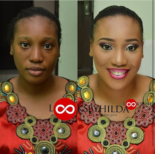 LoveweddingsNG Before and After Looks by Hilda1