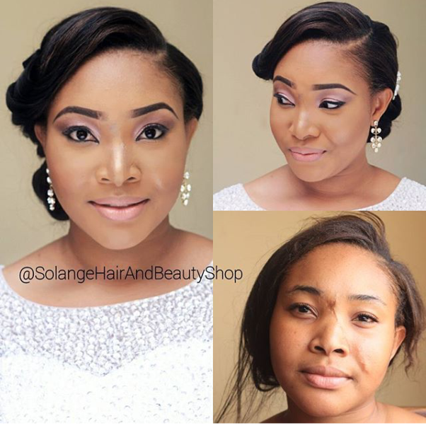 LoveweddingsNG Before and After Solange Hair and Beauty Shop1