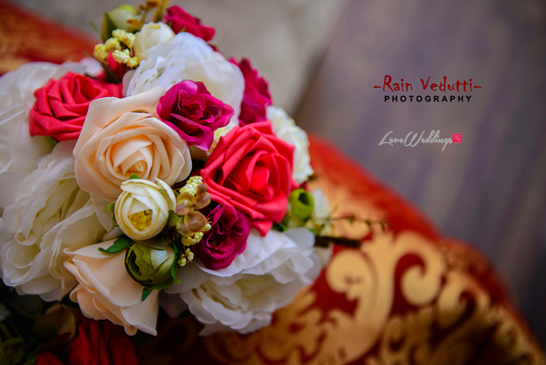 LoveweddingsNG Uche & Tochukwu Rain Vedutti Photography bouquet
