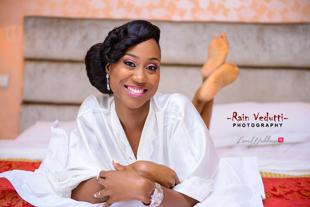 LoveweddingsNG Uche & Tochukwu Rain Vedutti Photography bride2