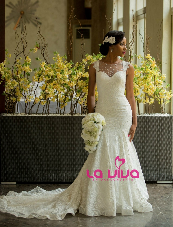 Nigerian Bridal Inspiration - La Viva Bridal Concepts LoveweddingsNG1