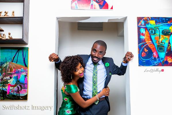 Nigerian Engagement Shoot - Joan & Lanre LoveweddingsNG4