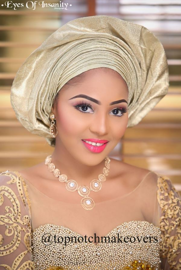 Nigerian Makeup Artist - Topnotch Makeovers LoveweddingsNG1