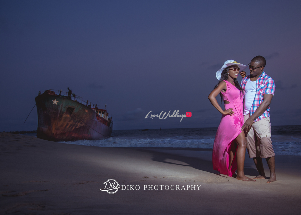 Nigerian Pre wedding Shoot - Olubusola and Oriyomi LoveweddingsNG Diko Photography8