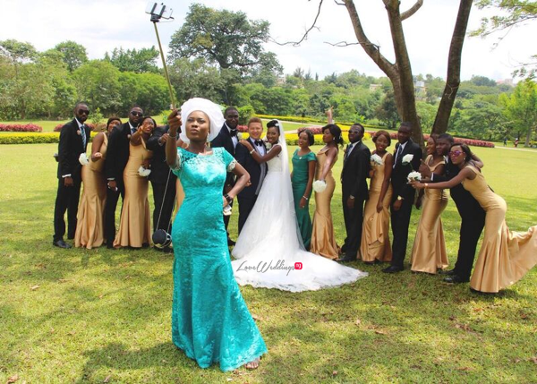 Nigerian White Wedding - Temitope and Pablo LoveweddingsNG