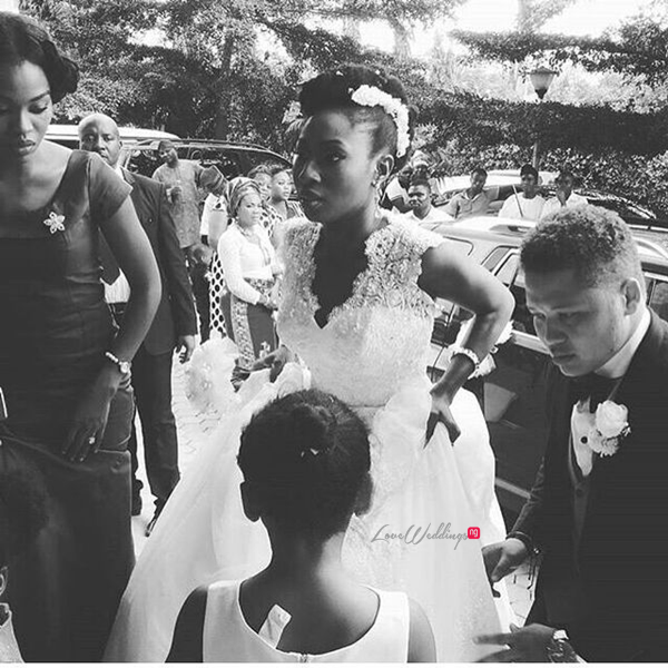 Nigerian White Wedding - Temitope and Pablo LoveweddingsNG7