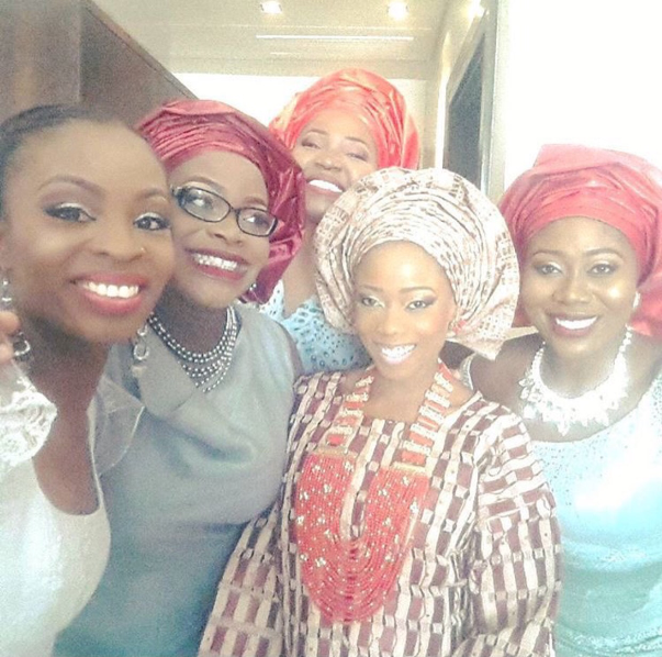 Tosyn Bucknor and Boyer Aurelien Traditional Wedding LoveweddingsNG2