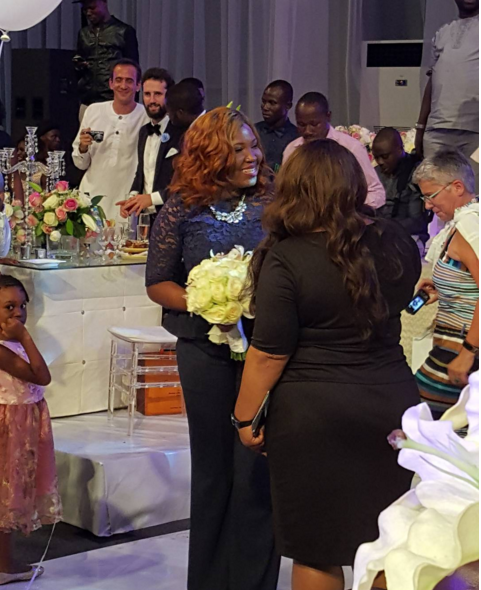 Tosyn Bucknor and Boyer Aurelien White Wedding LoveweddingsNG - Sasha P