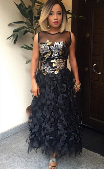 Tosyn Bucknor and Boyer Aurelien White Wedding LoveweddingsNG - Toke Makinwa