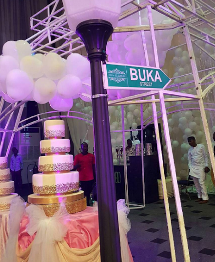 Tosyn Bucknor and Boyer Aurelien White Wedding LoveweddingsNG4